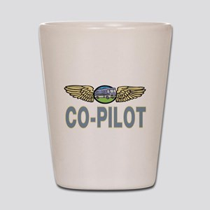 RV Co-Pilot Shot Glass